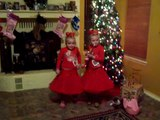 The little Pawners Makenna and Maryssa Mahaney  dancing to theme song Hawaii five o