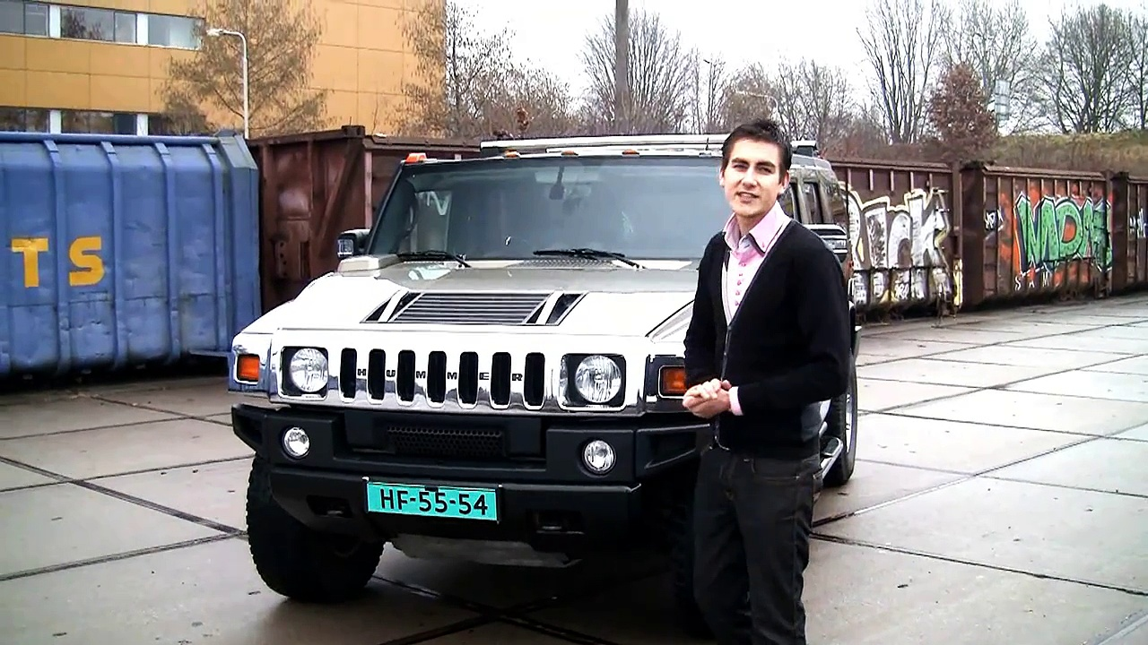 Hummer H2 Review – Hartvoorautos.nl English subtitled