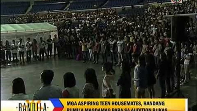 Thousands join ABS-CBN Grand Kapamilya Audition