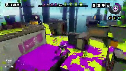 Splatoon Global Testfire 3rd Hour Stream part 2
