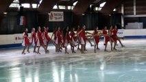 Programme libre Extravaganza (Franconville) - 4ème en juniors - Championnat de France 2015 de ballet sur glace