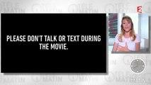 Julie Delpy et Ethan Hawke vous demande d'éteindre votre téléphone !