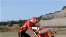 Power Rangers Samurai - Clash of the Red Rangers - Shark Attack and Super Modes Transformations (HD)
