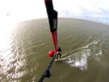 Kitesurf / mountainboard : from Normandy to Netherlands  (GoPro)