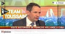 """TextO' : Jean-Christophe Cambadélis : """"C'est historique... Cela démontre que la France peut être présente en Amérique latine."""""""
