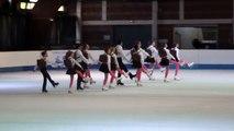 Démonstration Open -15 ans Team Tagad'Ice (Franconville) - Championnat de France 2015 de ballet sur glace