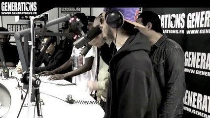 L'Entourage - Freestyle (Live des studios de Generations)