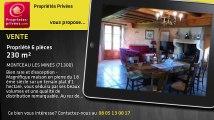 A vendre - propriété - MONTCEAU LES MINES (71300) - 6 pièces - 230m²