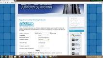 Como subir moodle con web hosting 260mb