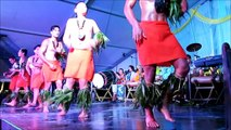 Cook Islander Dances at the Townsville Cultural Fest 2013