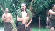 Maori Haka - Welcoming a tribe into their village