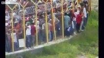 Momento de masacre Toncontín Presidente Manuel Zelaya Mel Coup in Honduras