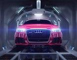 Accouchement de la Audi RS3 Sportback (Pub)
