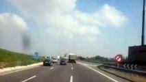 de casablanca à rabat ville sur l'autoroute | Maroc,