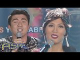 Alex Gonzaga, Luis Manzano in a singing showdown