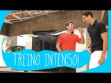 Gustavo Borges e seu treino intenso | Vai Amarelar?
