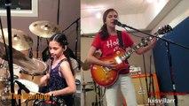 Enter Sandman de Metallica repris par 3 jeunes filles de 9 à 14 ans