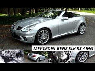 Garagem do Bellote TV: Mercedes-Benz SLK 55 AMG