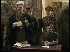Blackadder is court martialled Blackadder BBC