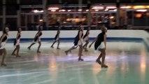 Programme libre Parad'Ice (Boulogne) - 5ème en séniors - Championnat de France 2015 de ballet sur glace