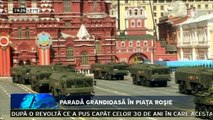 Paradă grandioasă în Piaţa Roşie. Niciun preşedinte sau premier european nu au dat curs invitaţiei lui Putin. Tehnica militară cu care se mândresc atât de mult rușii și în care au investit atât de mult este, însă, destul de șubredă.