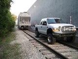 Ford Cummins Towing 98,000 lb Rail Car