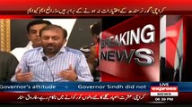 The Reason Why MQM Is Demanding Ishrat Ul Ibad To Resign As Governor Sindh