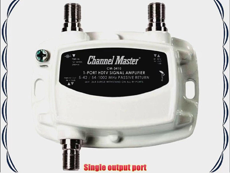 CM HDTV CATV RF//UHF//VHF//TV Antenna Signal Powered Distribution Booster Amplifier