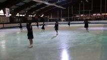 Programme libre Energia (Colombes) - 1er en juniors - Championnat de France 2015 de ballet sur glace