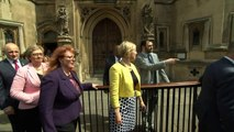 SNP MPs photocall outside Parliament