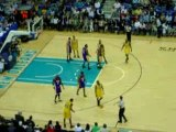 Los Angeles Lakers @ Hornets, historic record