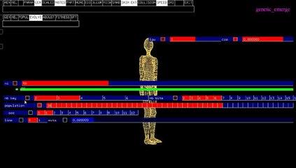 CIGALE : Prototype Algorithme Génétique - Bras avec loi de mouvement