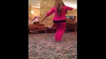 رقص منزلي من بنت زي العسل رقص دلوعة على كيفك Safa Dance