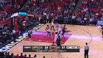 Tristan Thompson Finish _ Cavaliers vs Bulls _ Game 4 _ May 10, 2015 _ 2015 NBA Playoffs