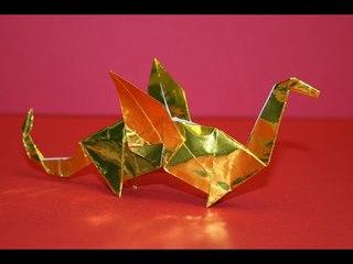 Origami - Dragon [Senbazuru]