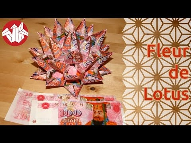 How To Make an Origami Lotus Flower - video dailymotion   480x640