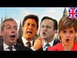 UK election 2015 neck and neck: Cameron, Miliband, Clegg, Sturgeon, Farage battle to break deadlock