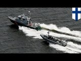 Russia vs Finland: Finnish military drops depth charges to warn underwater craft - TomoNews