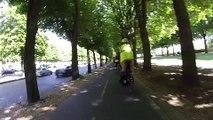 Balade en vélo le long des berges du canal de Saint-Denis et de la Seine - Partie 3