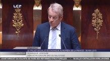 TRAVAUX ASSEMBLEE 14E LEGISLATURE : Débat dans l'hémicycle sur le projet social et économique européen de la France