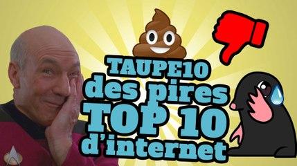 TOP 10 des pires TOP 10 d'internet