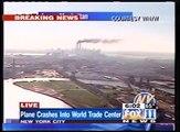 Attentats 11 septembre 2001 WTC 9/11 - Second impact (WNYW: Fox11 L.A. en direct [KTTV])