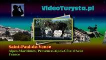 Saint-Paul-de-Vence,  Alpes-Maritimes, Provence-Alpes-Côte d'Azur, France [HD] (videoturysta)