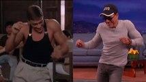 """Jean-Claude Van Damme Recreates His """"Kickboxer"""" Dance Scene"""