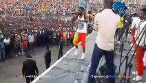 Bercy Muana enflamme le stade Tata Raphael au concert de Werrason pour la Renaissance