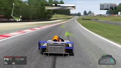 Project CARS - Superkart - Qualification et Courses