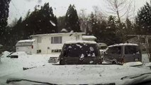 GoPro Terrace BC 2015 Winter Time Lapse Trip Across Town and Back HD