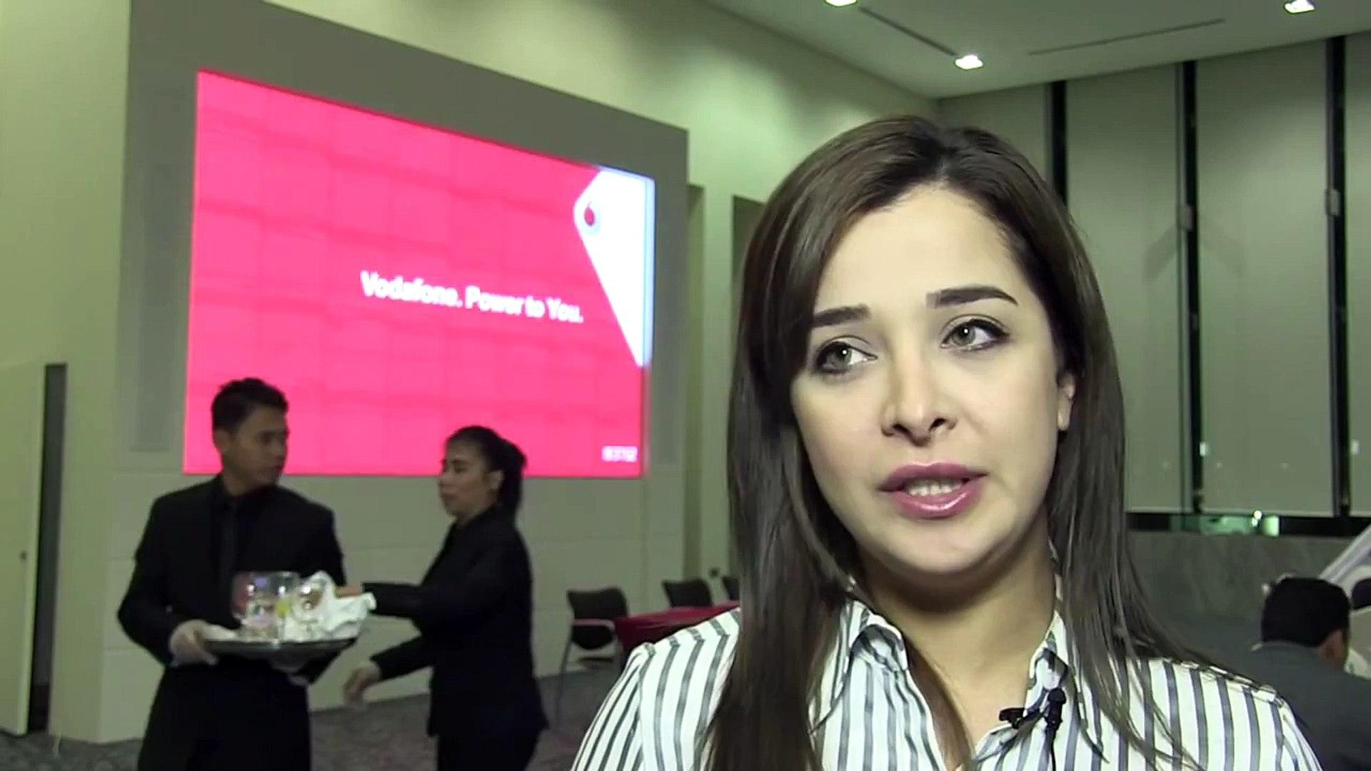 Vodafone Qatar | Voice of People; Qatar University event attendees