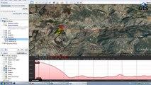 الدرس 03 Google Earth   إنجاز المقطع الطبوغرافي على Google Earth