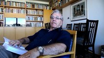 """CultureBuzz's Hebrew Writers-Readers' series! Amos Oz reads from """"A Tale of Love and Darkness""""."""